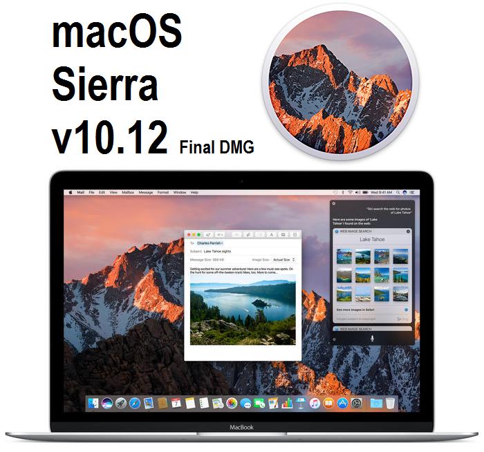 macOS Sierra 10.12 Final