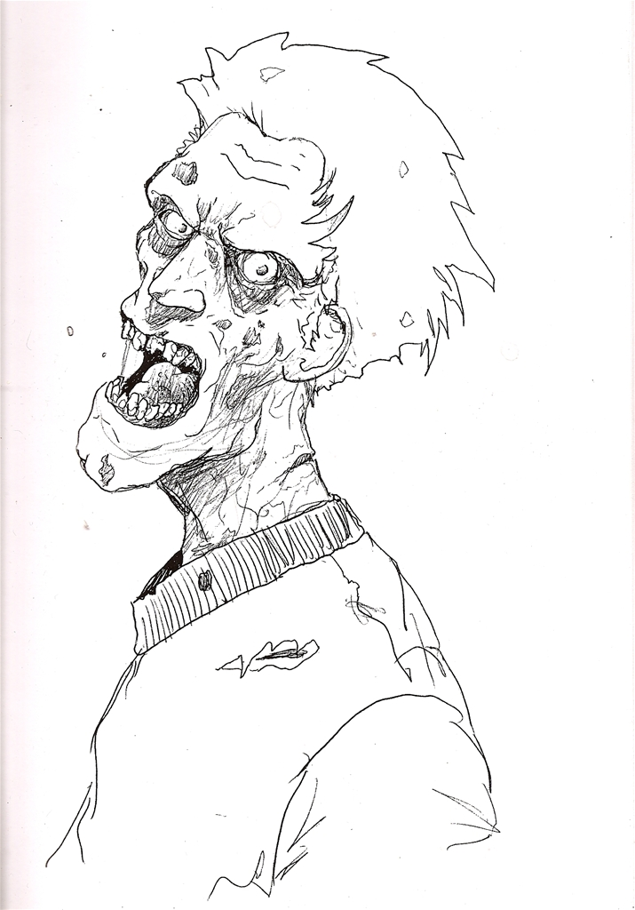 Dog coloring pages zombie coloring coloring pages for Zombie coloring pages
