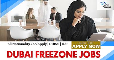 New Job Vacancies In Jafza Dubai-UAE