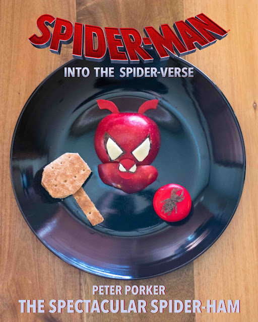 How to make a Spider-Man: Into the Spider-Verse Spider-Ham Peter Porker lunch!