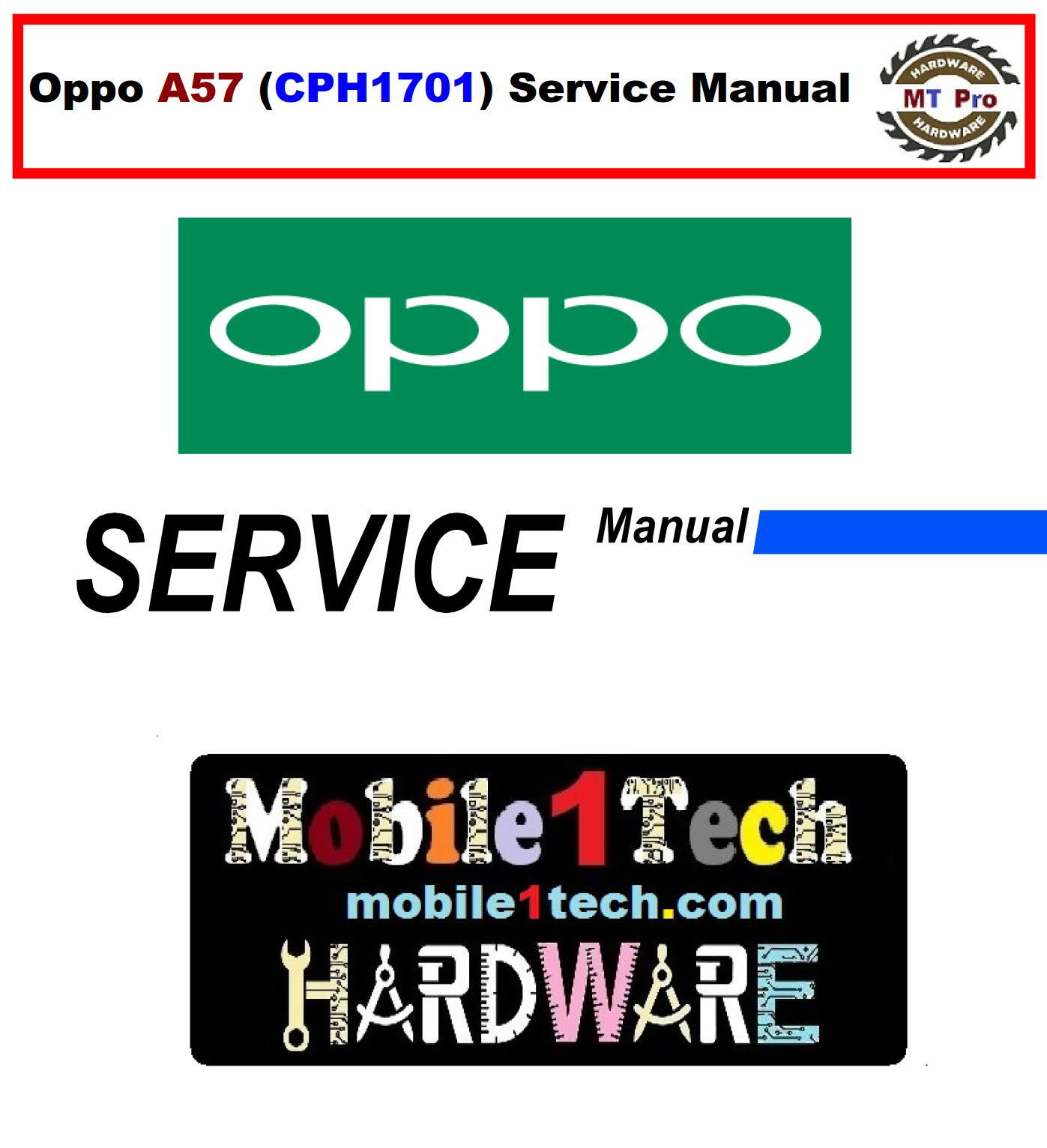 Oppo Schematics U0026service Manual