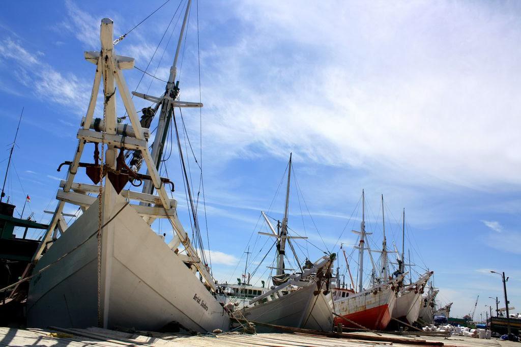 Pelabuhan Tradisional wisata sejarah di Makassar