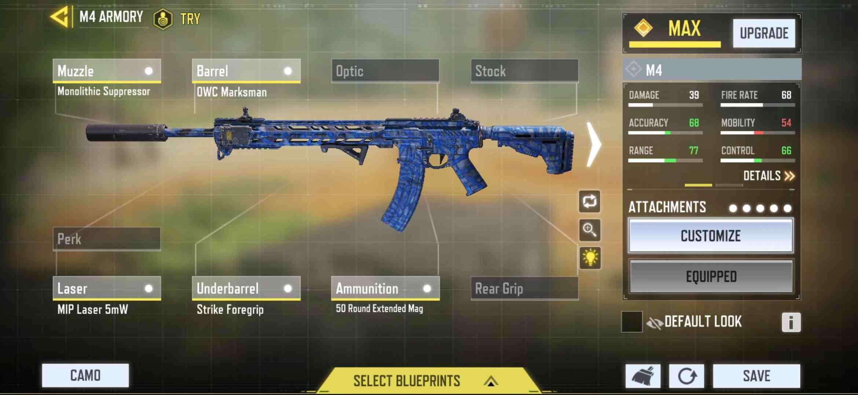 M4 best gunsmith for Passive gameplay