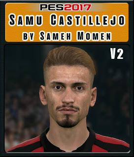 PES 2017 Faces Samu Castillejo by Sameh Momen