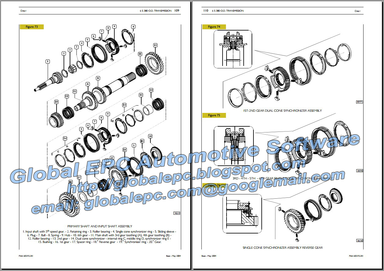 the manual is indexed so you can easily and quickly access the info you  need  iveco daily 2000-2006 repair manual and wiring diagrams