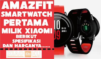 amazfit xiaomi smartwatch