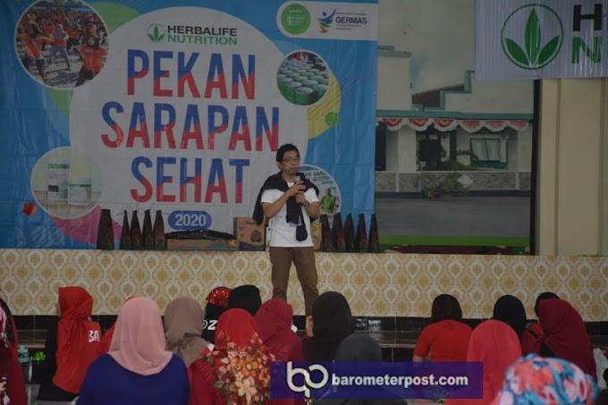Peduli Stunting  ,Gandeng Herbalife Berikan Sosialisasi Kesehatan Kodim 0824 Bantu Pemerintah  Daerah