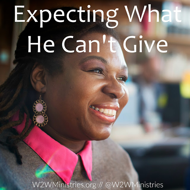 Expecting what he can't give. #marriage #marriagemonday #wifey #husband #family #relationship #God