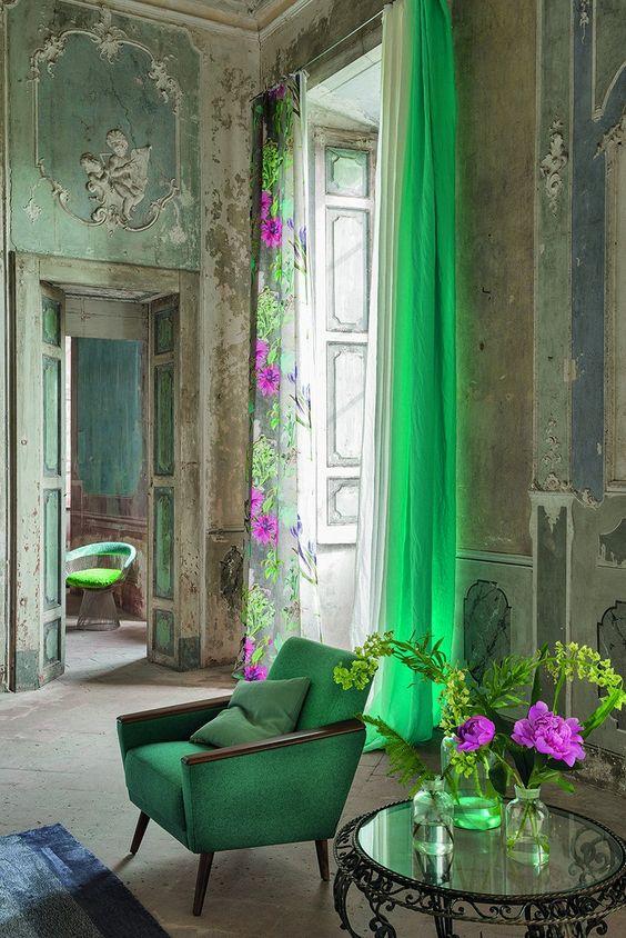blog deco - rideaux pour fenêtres hautes