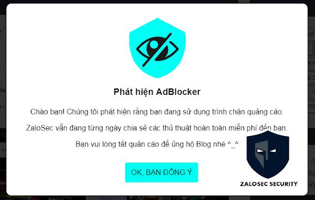 Code chống và chặn AdBlock cho blogspot, script chặn AdBlock, cách chặn AdBlock cho blogspot, code chặn không cho chặn quản cáo web, Chặn AdBlock cho blogspot, Anti Adblock Killer blogger