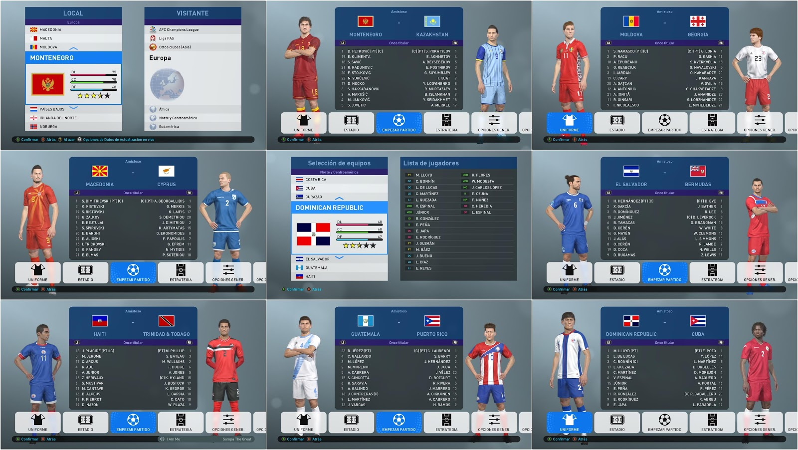 PES 2019 National Teams Patch 2019 by Peterodon