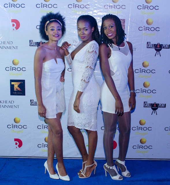 "Runtown, DJ Consequence & More Party at Grill at the Pent Abuja ""All-White"" Edition"