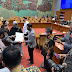 Kepala Dinas Pariwisata kabupaten Bener Meriah Menyerahkan Langsung Dokumen Usulan Detail Engineering Design (DED)