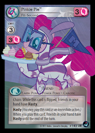 My Little Pony Pinkie Pie, Fili-Second High Magic CCG Card