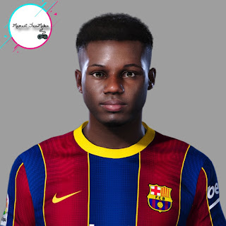 PES 2021 Faces Ansu Fati by Mamad7