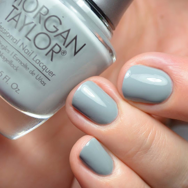 grey creme nail polish