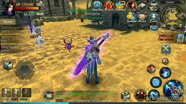 Cara Jitu Memainkan Game Mmorpg Android