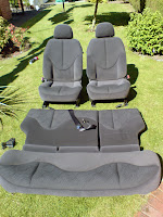 Rover 25 standard cloth seats