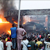 Fire Outbreak Rocks INEC Headquarters In Abuja..
