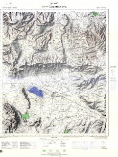 ACH_CHEMMAIYA Morocco 50000 (50k) Topographic map free download