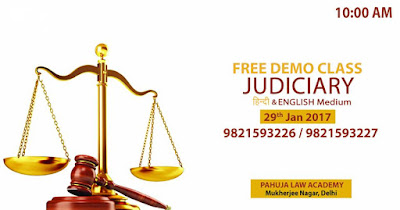 Demo Class for Judiciary in English & Hindi