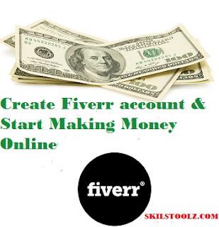 create fiverr account