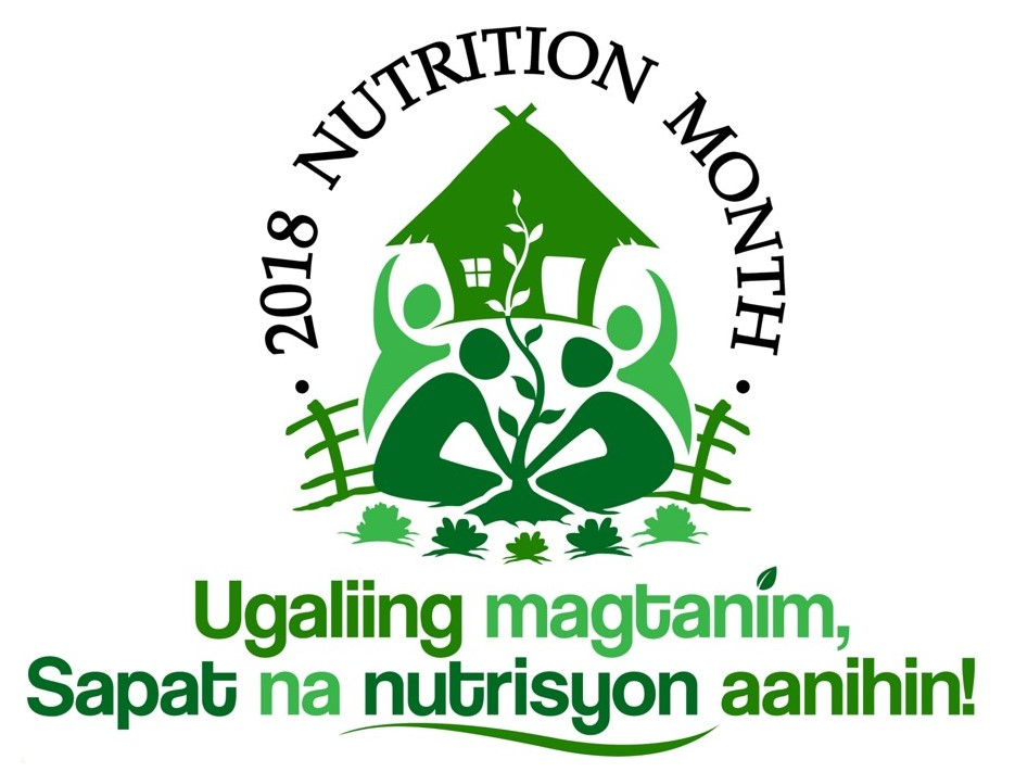 The Winning Logo Design For This Years Nutrition Month Celebration