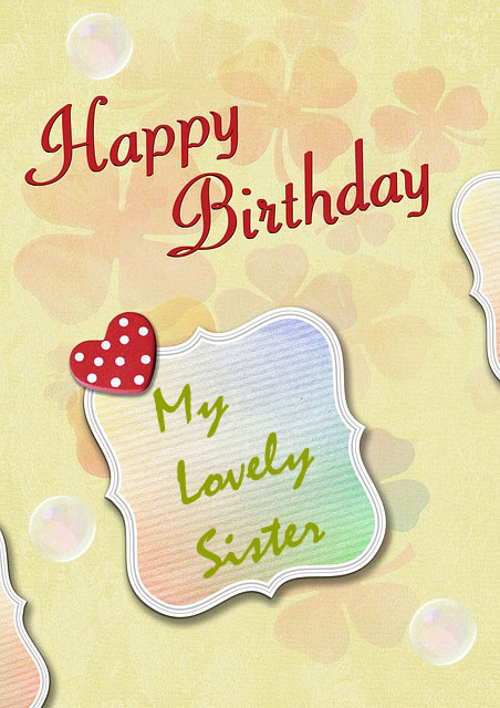 happy birthday sister images free download