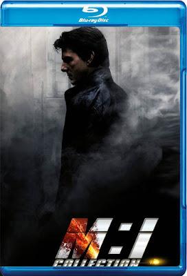 COMBO Mission Impossible Coleccion DVD HD Dual Latino 5.1 + Sub 3xDVD5