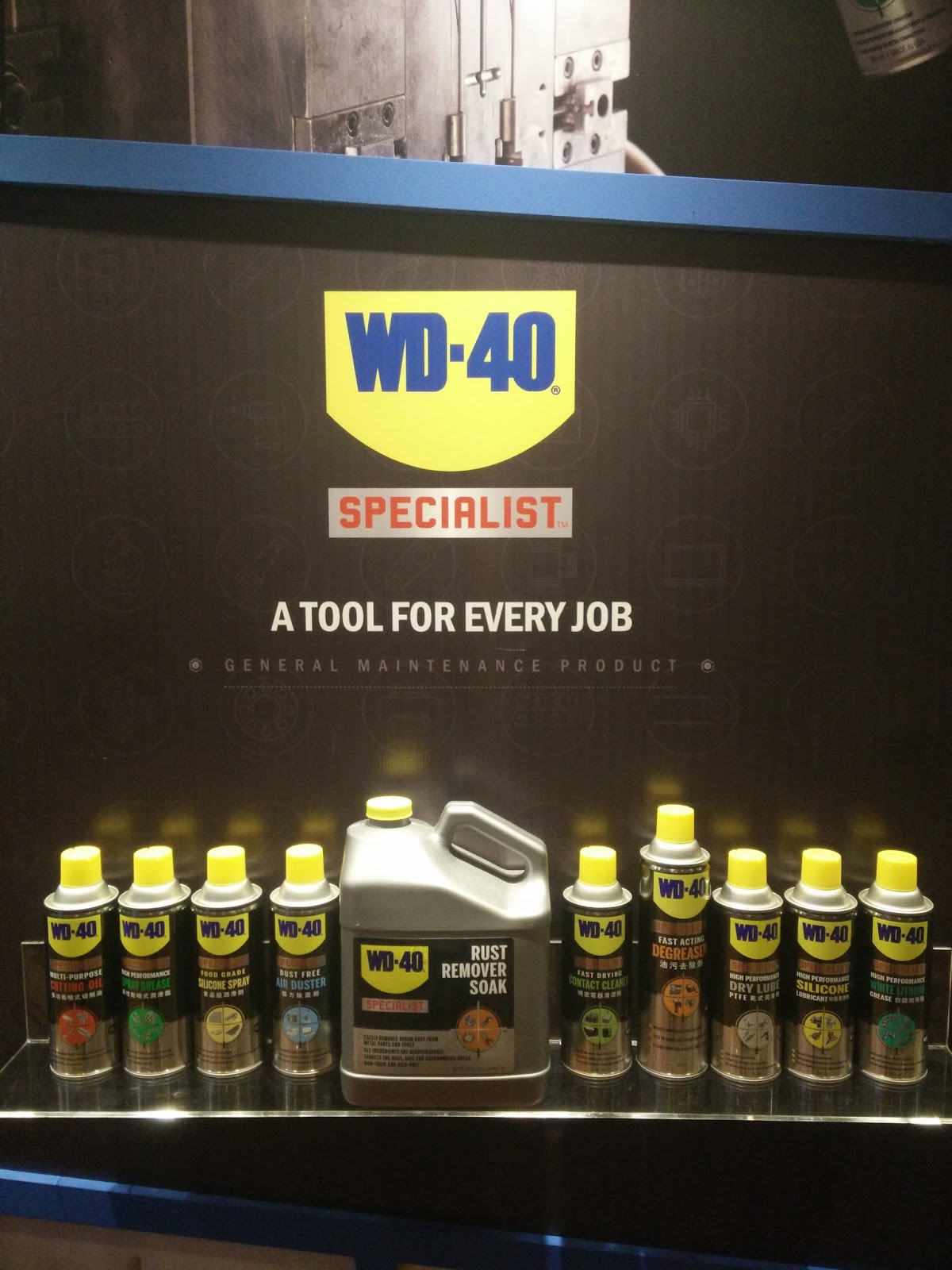E Wen Hooi Can You Imagine The World Without Wd 40 Wd40 Belt Dressing Specialist Edition