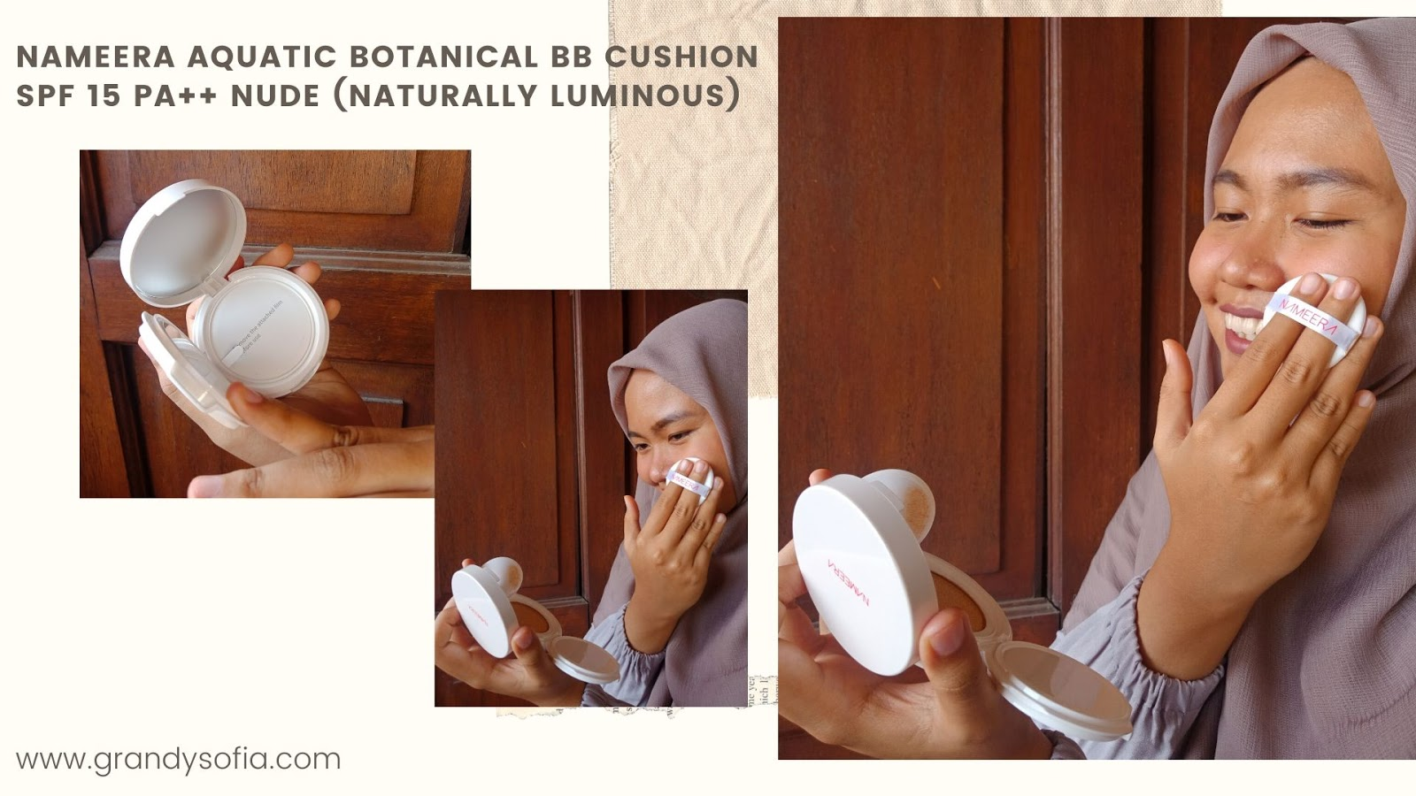 skincare routine dengan Nameera Aquatic Botanical