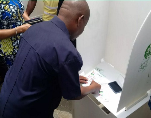Rivers Rerun Election: Gov. Wike, Amaechi, Asari Dokubo & More Voting Amid Tight Security (Photos)