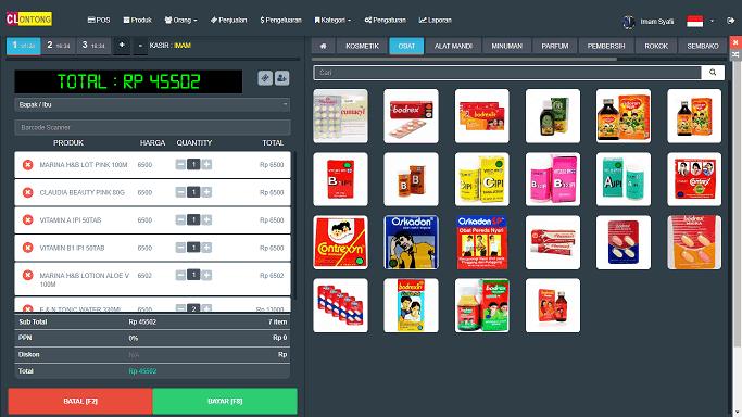 Aplikasi Kasir Toko Kelontong Menggunakan Codeigniter