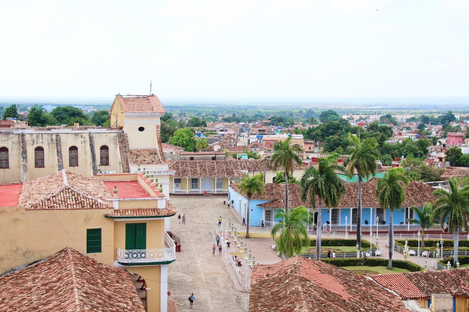 Vue Trinidad - Cuba