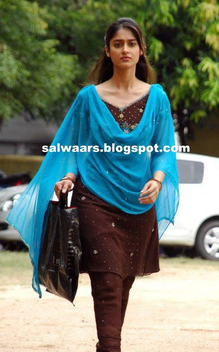 Illeana In Brown Designer Salwar Indian Dresses