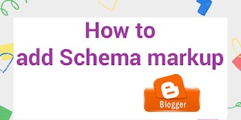 How to add Schema markup in Blogger