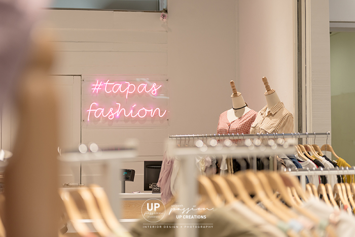 Tapas fashion paradigm pj led neon sign in pink color