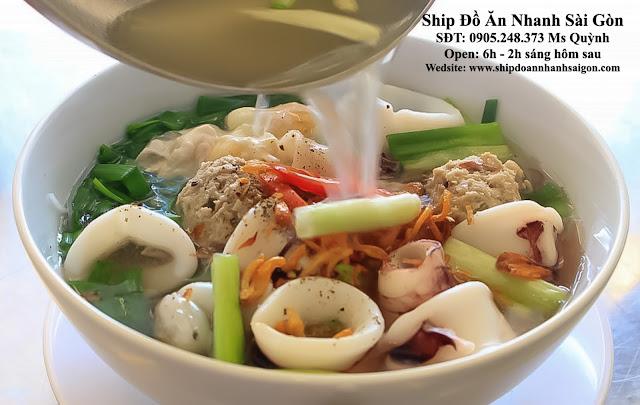 Hủ tiếu mực - Ship Đồ Ăn Đêm Sài Gòn