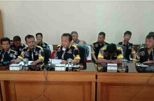 Ormas GMBI Distrik Pangandaran Audiensi Dengan DPRD