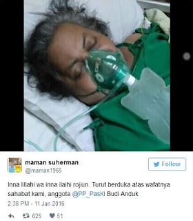 Penyakit paru paru basah bisa menyebabkan kematian