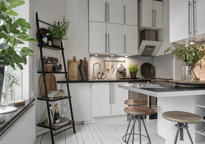 Mini apartamento con buenas ideas lowcost