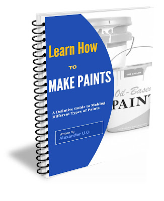 Learn how to  make paints yourself