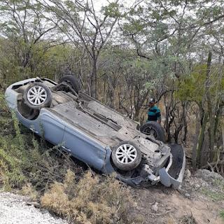 Médico resulta ileso al sufrir accidente de tránsito en El Limón, Jimaní
