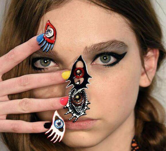 fantastic ,reindeer Nail Art ,Trends