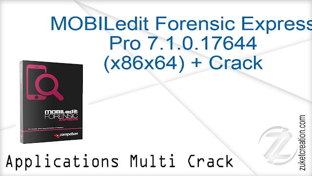MOBILedit Forensic Express Pro 7.1.0.17644 + Crack