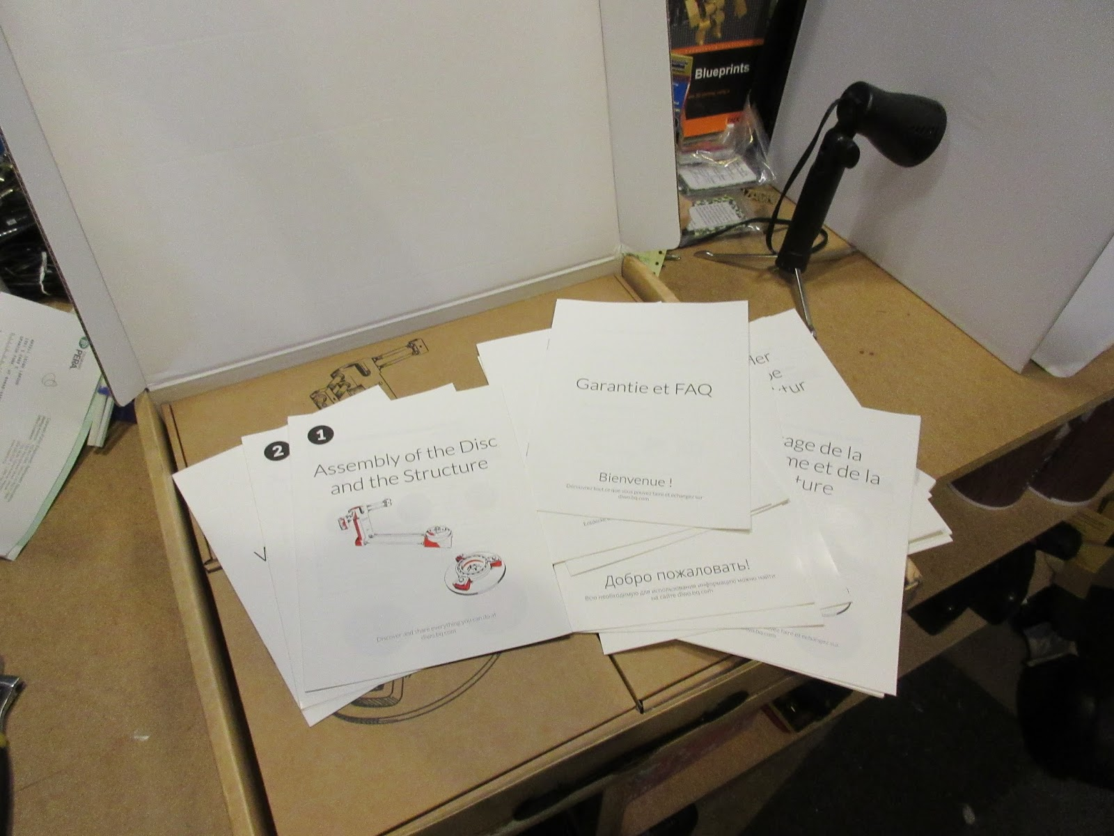 Joe's 3D Workbench: Ciclop Scanner First pass