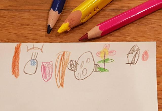 Malen und reimen: Eine schöne Beschäftigung für verregnete Nachmittage mit Kindern (eine einfache Idee). Ich zeige Euch auf Küstenkidsunterwegs, wie Ihr bei Regenwetter mit Kindern kreativ werden könnt. Eine schöne Beschäftigung, für die Ihr nur etwas Zeit und Buntstifte braucht.