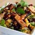 Creamy BBQ Chicken Salad receipe