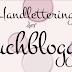 Handlettering der Buchblogger - Dein Wunschbuch für 2021