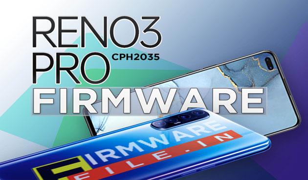 Firmware Oppo Reno 3 Pro